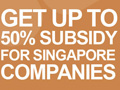 Join Up Singapore Pavilion. Get Up to 50% Subsidy.