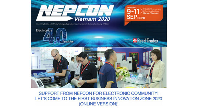 NEPCON Survey - Business Innovation Zone 2020 Is Open