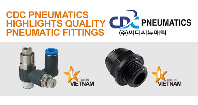CDC Pneumatics Highlights Quality Pneumatic Fittings