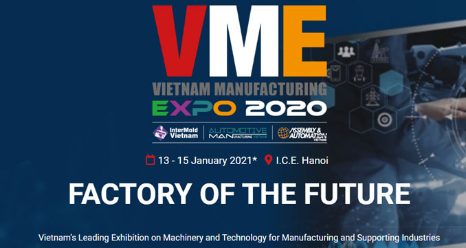 Announcement Of VME20 New Exhibition Days: 13 -15 January 2021