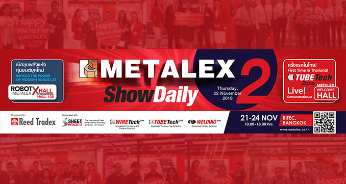 Fwd: See the Real Deals in Metalworking in Action, only at METALEX!