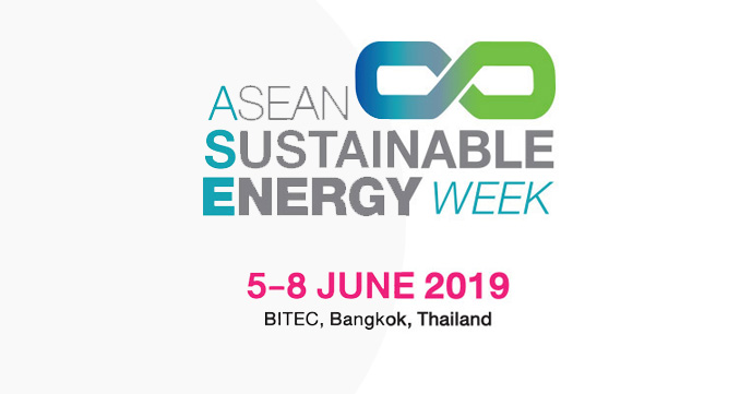 Be part of Asia mega energy event today! ASEAN Sustainable Energy Week 2019, 5-8 June, BITEC Bangkok
