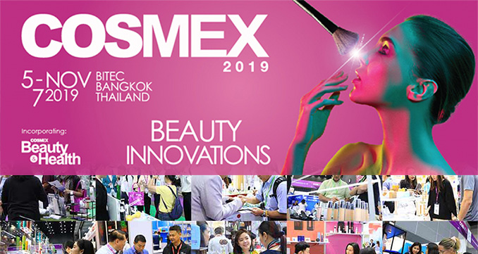 Begin Your Beauty Entrepreneurship at COSMEX 2019