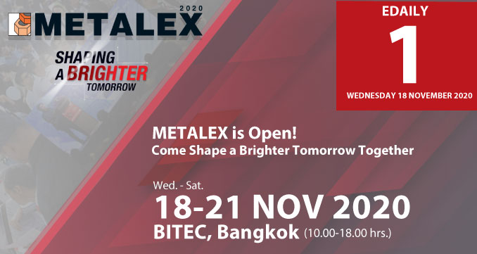 METALEX is Open! Come Shape a Brighter Tomorrow Together