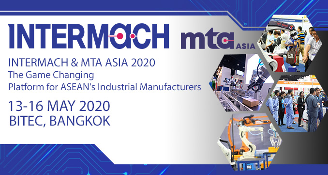 INTERMACH  MTA ASIA 2020 Expand your Thailand business - Book your stand today