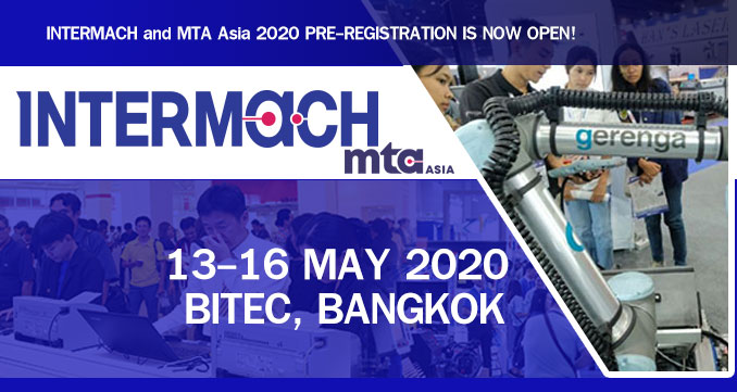 INTERMACH and MTA Asia 2020  PRE-REGISTRATION IS NOW OPEN!