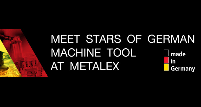 Meet Stars of German Machine Tool at METALEX / พบไฮไลท์แห่งเครื่องจักรกลโลหะการเยอรมนีที่เมทัลเล็กซ์
