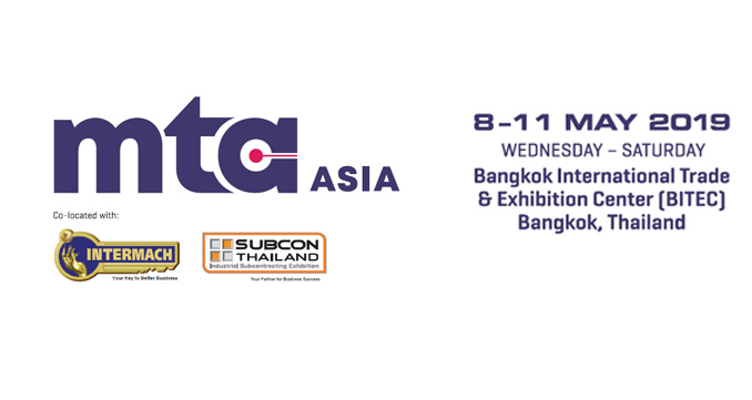 To meet the Future of Sheet metal Technology at INTERMACH 2019, 8-11 May, BITEC Bangkok